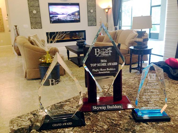 Skyway Builders custom home awards