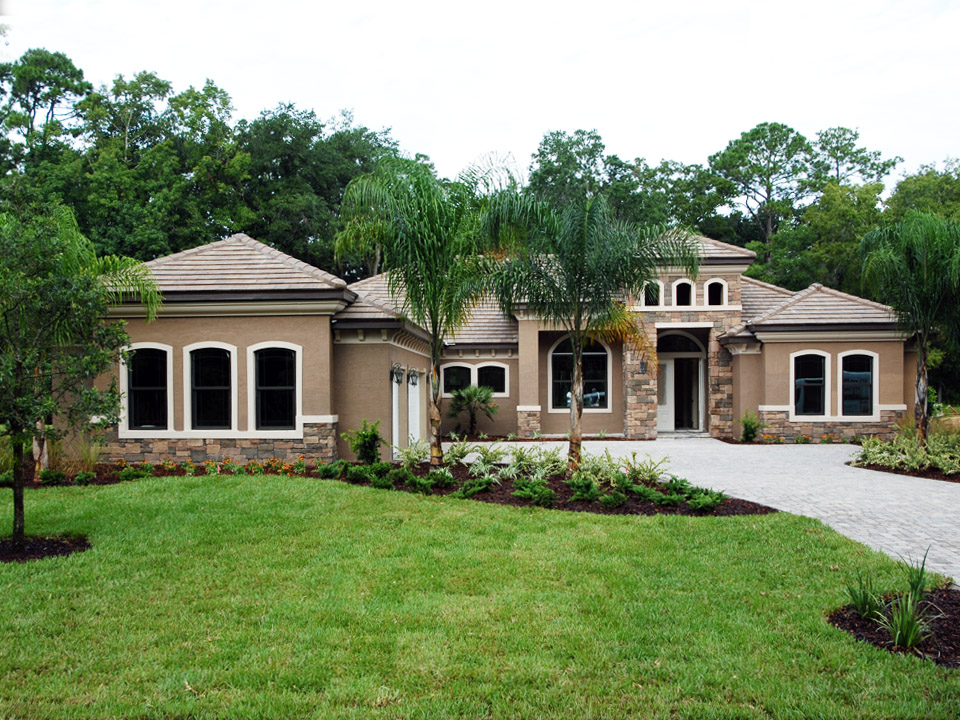 Barcelona model custom home by Skyway Builders